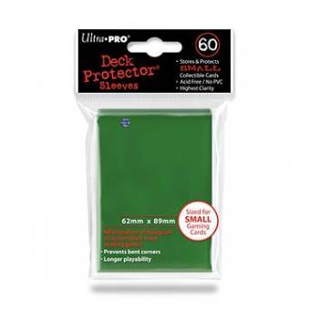 Ultra Pro Kartenhüllen - Japanische Größe (60) - Grün