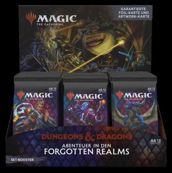 Abenteuer in den Forgotten Realms Set Booster-Display Box deutsch