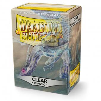 Dragon Shield Kartenhüllen - Standardgröße classic (100) - Transparent