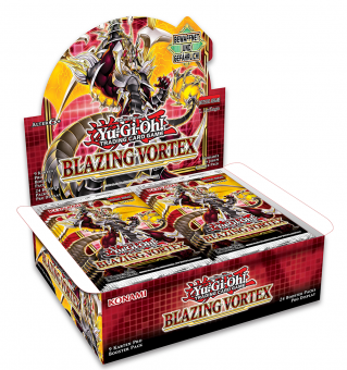 Blazing Vortex Booster-Display Box deutsch 1. Auflage