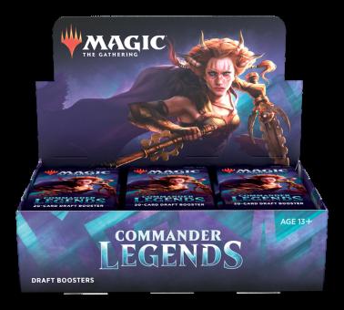Commander Legends Draft Booster-Display Box englisch