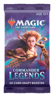 Commander Legends Draft Booster-Packung englisch