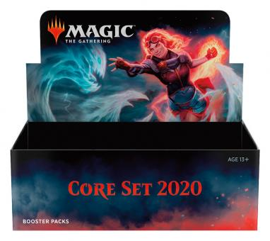 Core Set 2020 Booster-Display Box englisch