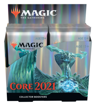 Core Set 2021 Collector Booster Display englisch