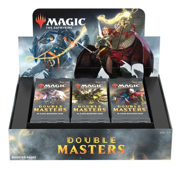 Double Masters Draft Booster-Display Box englisch (inklusive Box-Topper)