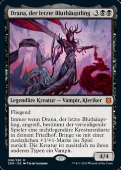 Drana, der letzte Bluthäuptling