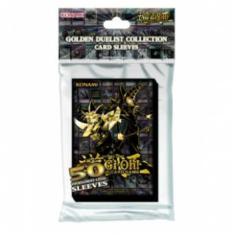 Konami Kartenhüllen -  Japanische Größe (50) - Yu-Gi-Oh! Golden Duelist