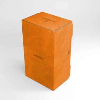 Gamegenic Premium Deckbox Convertible - Stronghold 200+ - Orange