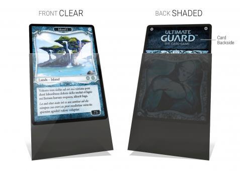 Ultimate Guard Kartenhüllen - Japanische Größe (100) - Undercover - Transparent