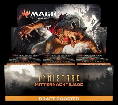 Innistrad: Mitternachtsjagd Draft Booster-Display Box deutsch