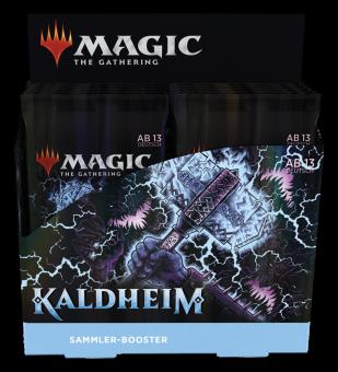 Kaldheim Sammler Booster-Display Box deutsch