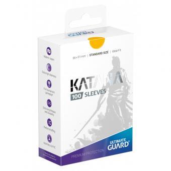 Ultimate Guard Katana Kartenhüllen - Standardgröße (100) - Gelb