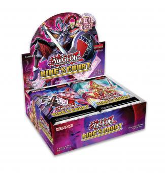 King's Court Booster-Display Box deutsch 1. Auflage