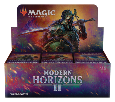 Modern Horizons II Draft Booster-Display Box deutsch