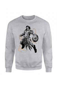 "Magic the Gathering Pullover ""Gideon Character Art"" - Grau"