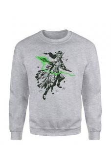 "Magic the Gathering Pullover ""Nissa Character Art"" - Grau"