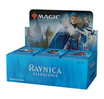 Ravnica Allegiance Booster-Display Box englisch