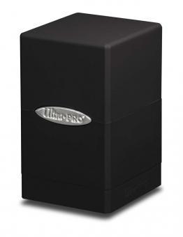 Ultra Pro Satin Tower Deckbox 100+ - Schwarz