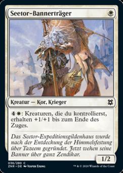 Seetor-Bannerträger