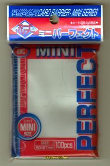 KMC Kartenhüllen  - Japanische Größe (100) - Perfect Size - Transparent