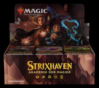 Strixhaven: Akademie der Magier Draft Booster-Display Box deutsch