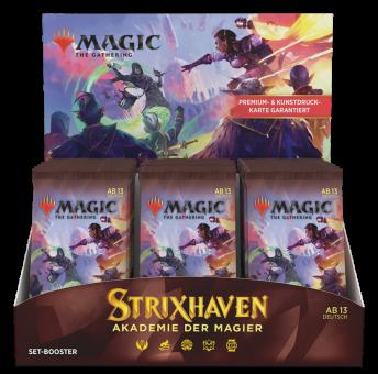 Strixhaven: Akademie der Magier Set Booster-Display Box deutsch