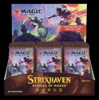 Strixhaven: School of Mages Set Booster-Display Box englisch