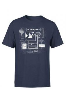 "Magic the Gathering T-Shirt ""Card Grid"" - Blau"
