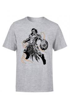 "Magic the Gathering T-Shirt ""Gideon Character Art"" - Grau"