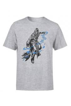 "Magic the Gathering T-Shirt ""Jace Character Art"" - Grau"
