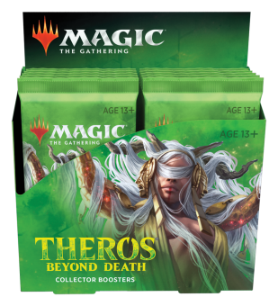 Theros Beyond Death Collector Booster Display englisch