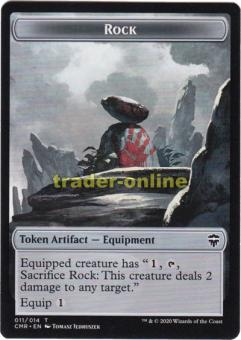 Token - Rock, Equipment