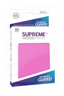 Ultimate Guard Supreme UX Card Sleeves - Standard Size (80) - Pink
