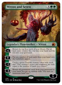Wrenn and Seven (Borderless Planeswalker)