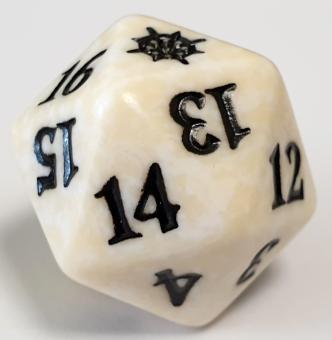 Magic: the Gathering W20 Spindown Lebenspunktezähler