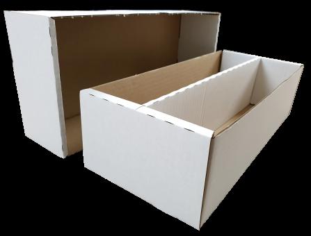 Papp-Sortierbox  für 2000 Karten