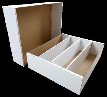 Papp-Sortierbox  für 4000 Karten