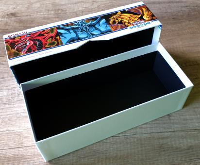 Leerbox Speed Duel Battle City Box zum Aufbewahren für ca. 600 Karten