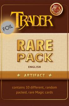 Foil Rare Pack - Artefakt - Englisch