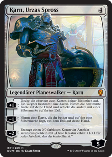 magic karte Karn, Urzas Spross | Trader Online.de   Magic & Yu Gi Oh! Trading