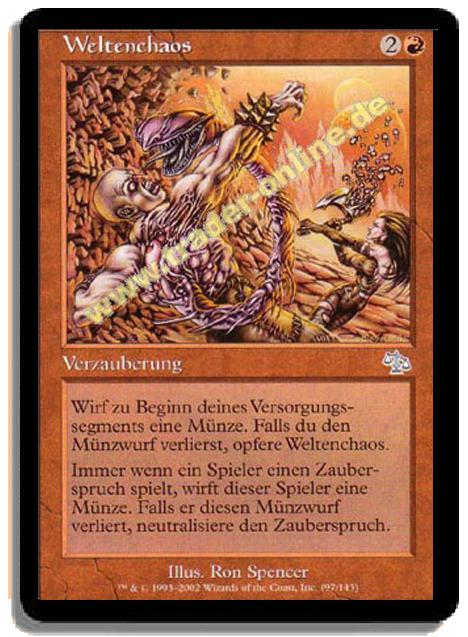 Weltenchaos Trader Onlinede Magic Yu Gi Oh Trading Card
