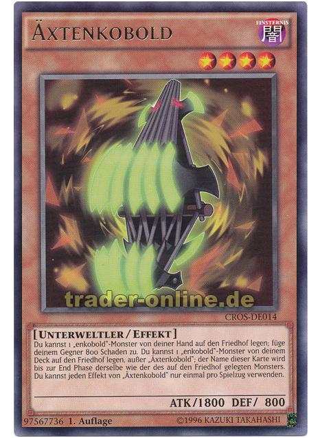 YU-GI-OH Äxtenkobold Rare CROS-DE014