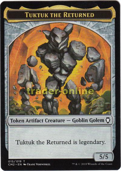 Theros Magic Golem Token Spielstein - Golem