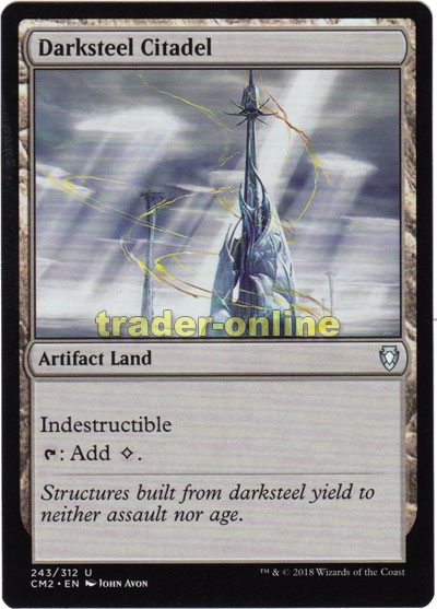 Darksteel Citadel (Nachtstahl-Zitadelle) | Trader-Online de - Magic &  Yu-Gi-Oh! Trading Card Online Shop for Card Singles, Boosters, and Supplies