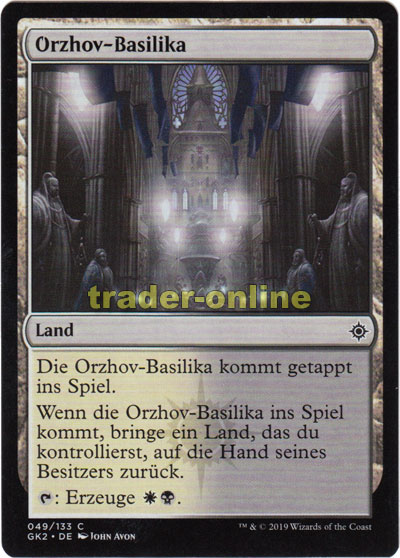 Orzhov Basilika Trader Online De Magic Yu Gi Oh Trading Card Online Shop For Card Singles Boosters And Supplies We have published more than 5679 (orzhov aggro is also known as orzhov tempo, orzhov humans or bw immortal dez). trader online de