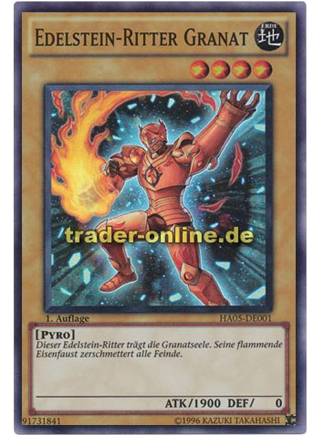 Edelstein Ritter Granat Trader Online De Magic Yu Gi Oh