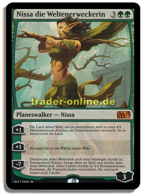 Nissa Die Weltenerweckerin Trader Onlinede Magic Yu Gi Oh