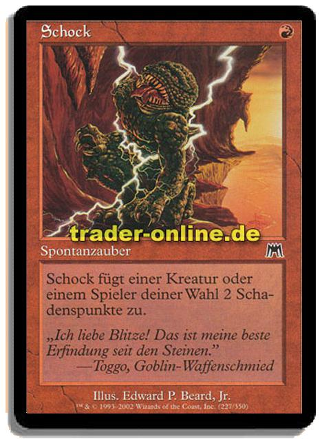 schock trader magic yu gi oh trading card online shop f r einzelkarten booster. Black Bedroom Furniture Sets. Home Design Ideas