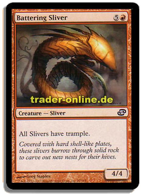 Battering Sliver Magic the Gathering Planar Chaos by Magic the Gathering