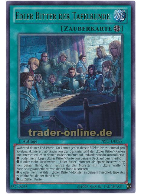 edler ritter der tafelrunde trader magic yu gi oh trading card online shop f r. Black Bedroom Furniture Sets. Home Design Ideas